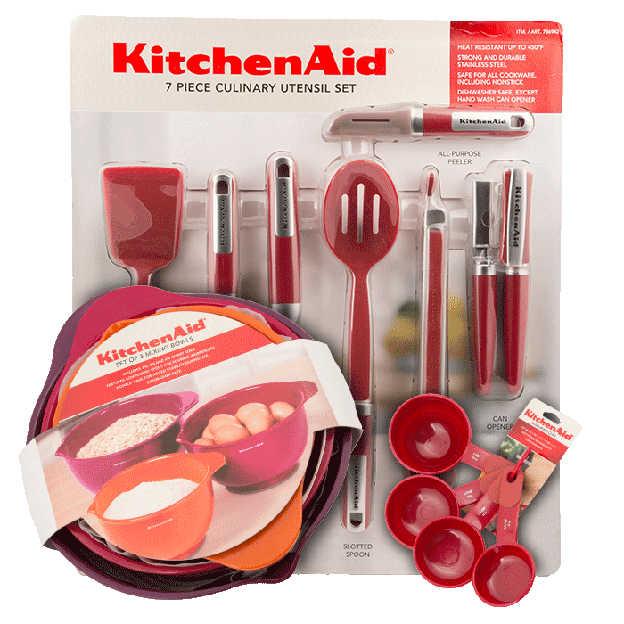 Kitchen Aid samples